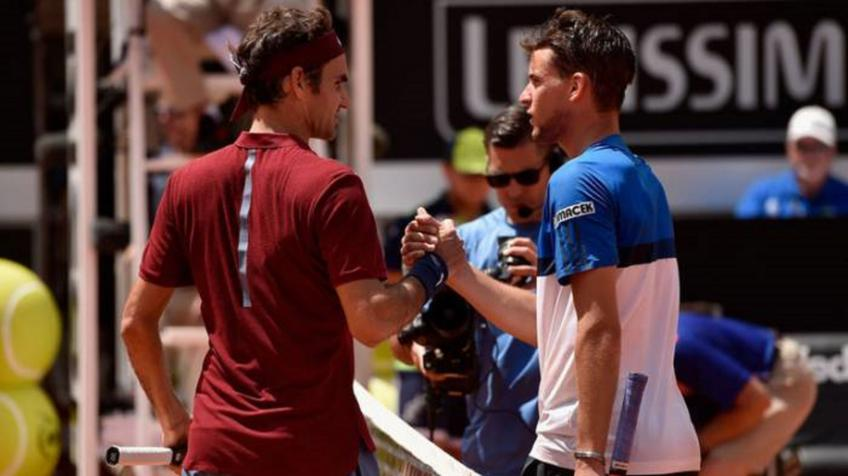 Dominic Thiem: 'Only Roger Federer, Rafael Nadal get such a crowd'