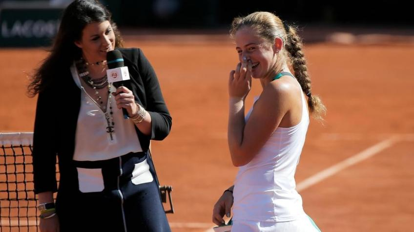 Marion Bartoli on Ostapenko's goals: win another slam and get back to top 8