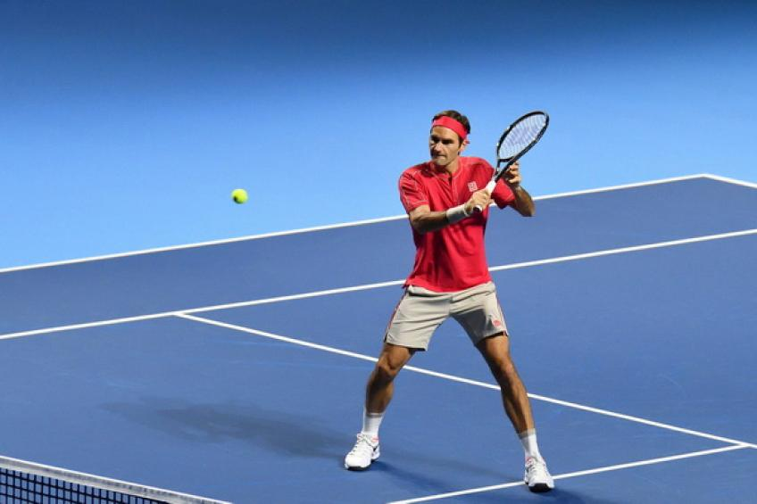 Roger Federer stands alone on the list of players with most..