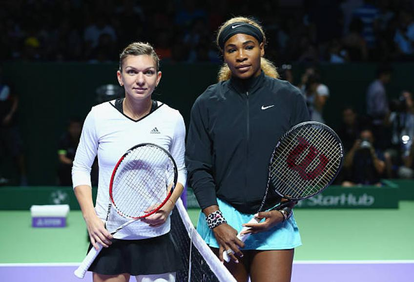 Halep: 'When I face Serena Williams, I don't think about her 23 Majors'