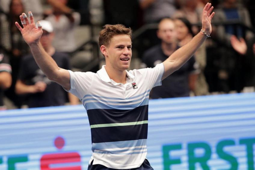 Thiem tops Schwartzman for Vienna title