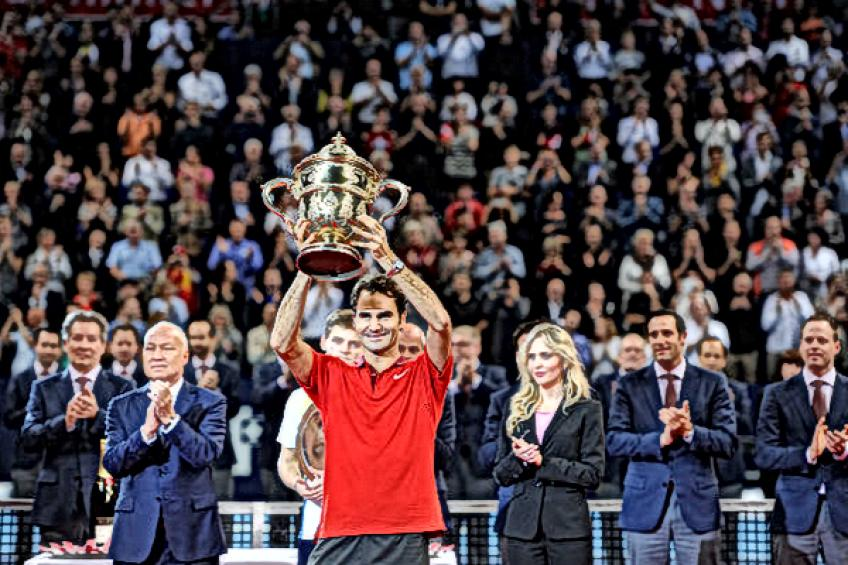 On this day: Roger Federer tops David Goffin to restore the order in Basel