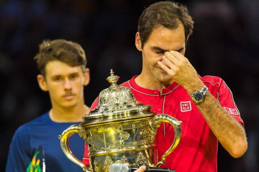 Roger Federer pulls out of Paris Masters after winning the title in Basel