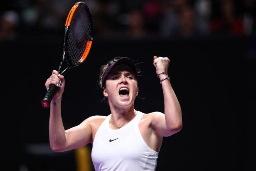 Svitolina tops Halep, earns semifinal spot in WTA Finals