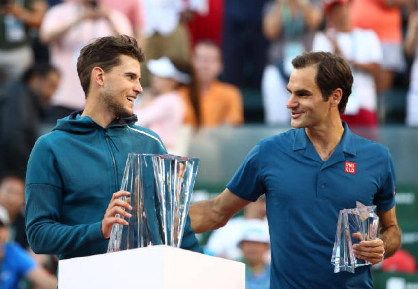 Dominic Thiem: 'Roger Federer is so elegant. Rafael Nadal...'