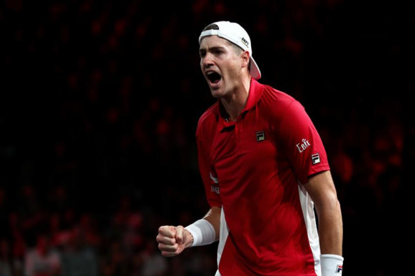 Isner and Pouille join Medvedev, Fognini, Goffin and Wawrinka in..