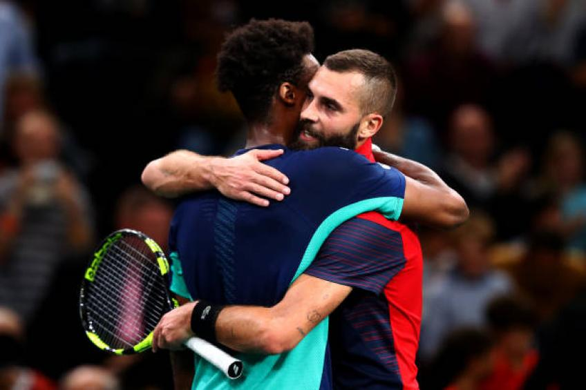 Paire: 'Me and Gael Monfils love each other. He should offer me drinks!'