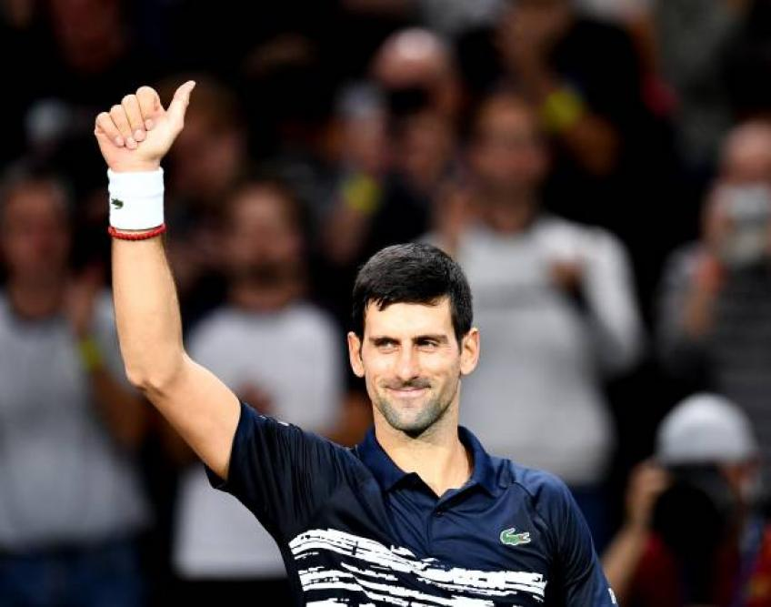 Novak Djokovic: 'I never thought about withdrawing from Paris Masters'