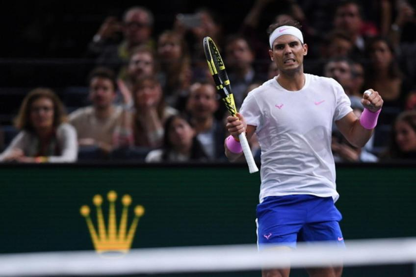 Rafael Nadal follows Roger Federer, Novak Djokovic on Masters 1000 record