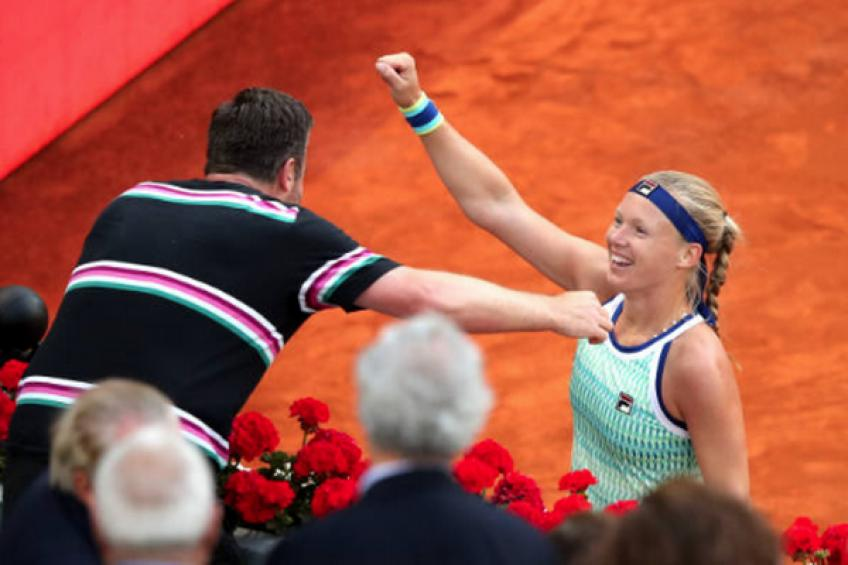 Kiki Bertens and Raemon Sluiter part ways despite another notable season