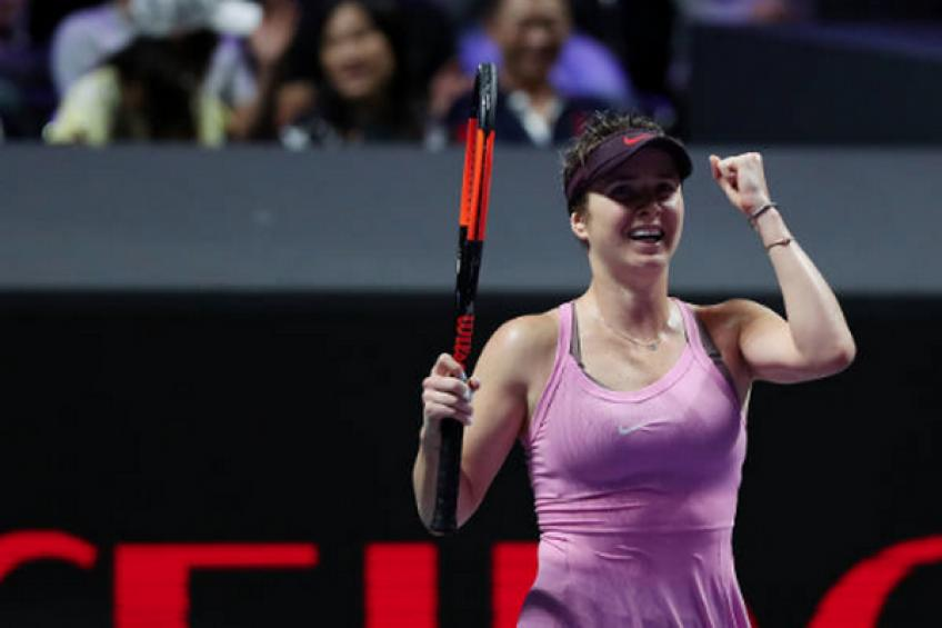 WTA Finals: Elina Svitolina edges debutant Sofia Kenin to stay perfect