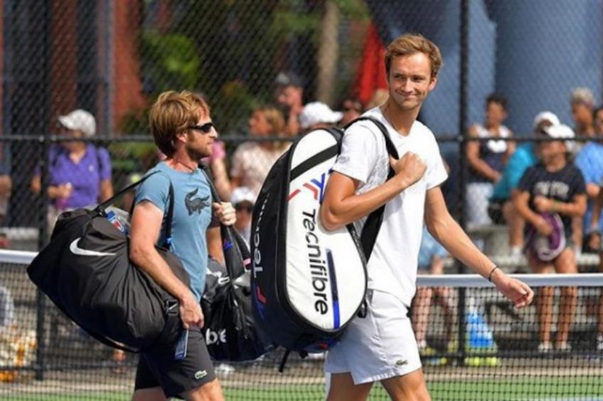 Daniil Medvedev recalls hilarious chat with coach