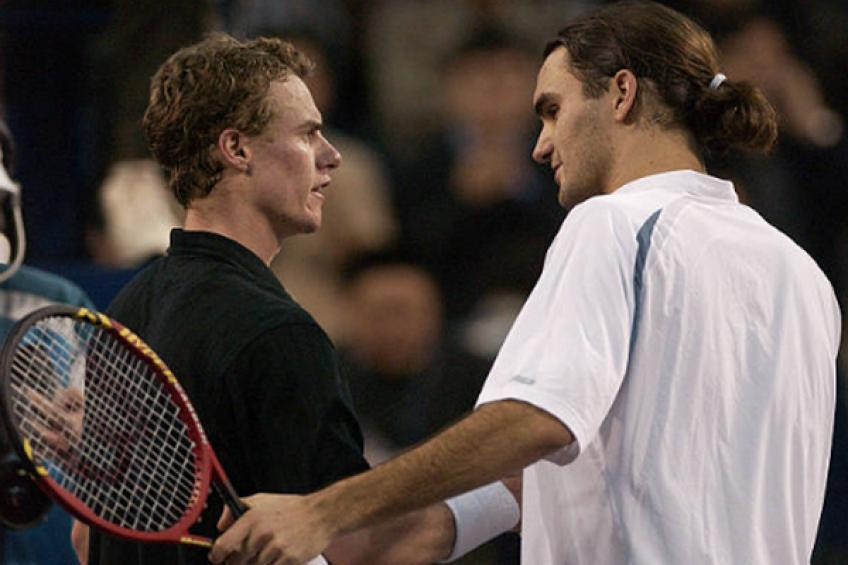 Roger Federer's first ATP Finals trip and epic Lleyton Hewitt clash