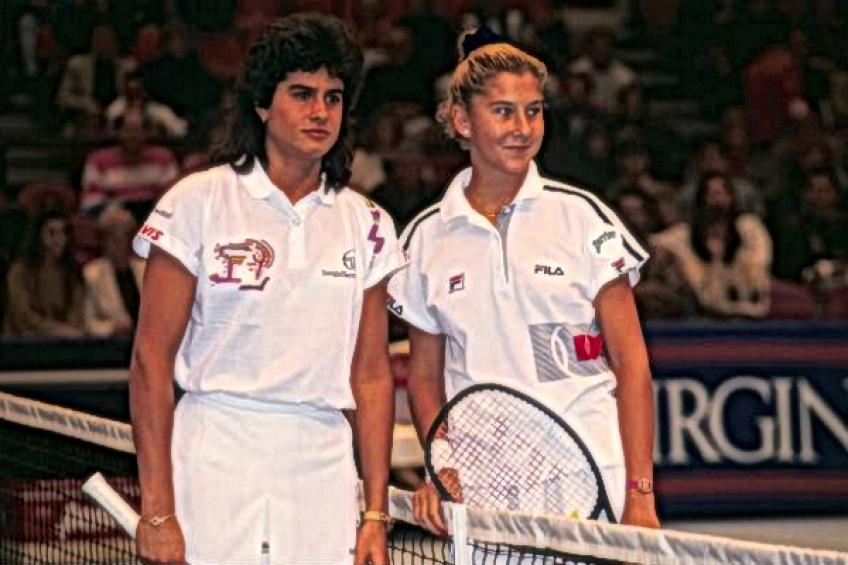 On this day: Monica Seles downs Gabriela Sabatini in first WTA five-setter!