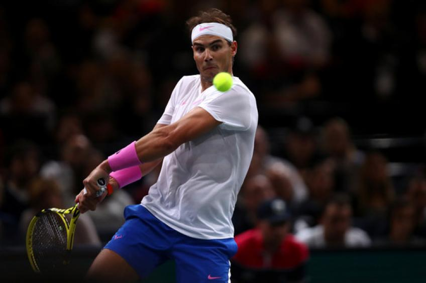 Rafael Nadal optimistic on fitness ahead of ATP Finals