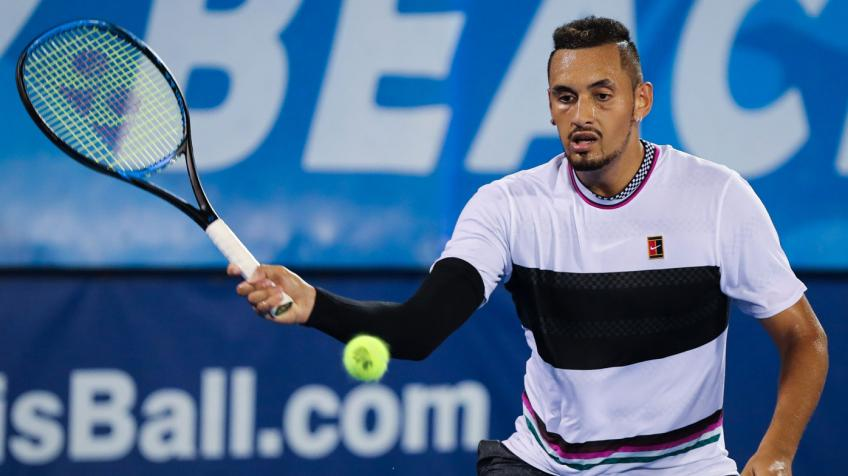 Nick Kyrgios signs up to play New York Open