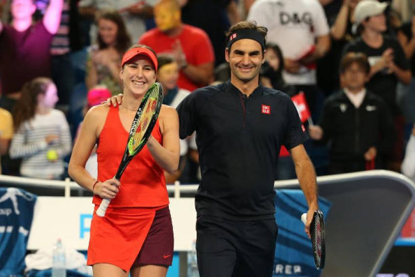 Bencic on chances of her and Federer playing mixed doubles in Tokyo Games