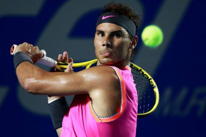 Rafael Nadal to headline 2020 Acapulco field