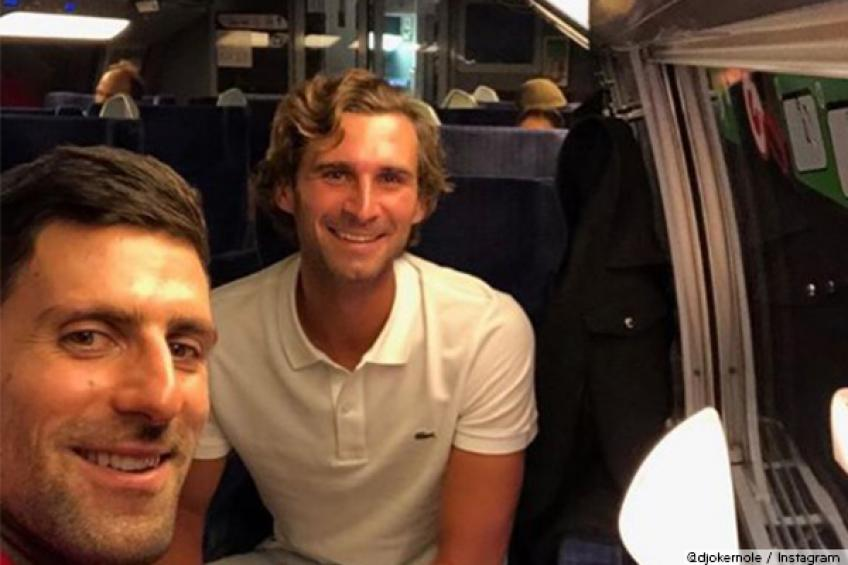 Djokovic celebrated Paris title with brother in one of fastest trains