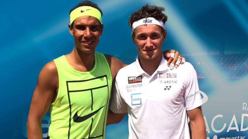 Working for many hours at Rafa Nadal Academy paid off for Ruud - Father