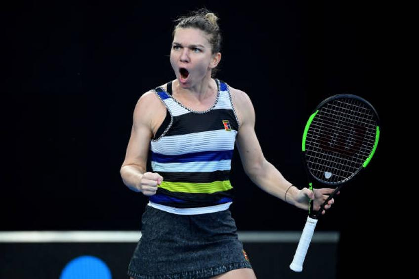 Behind Halep and Cahill's controversial on-court coaching session