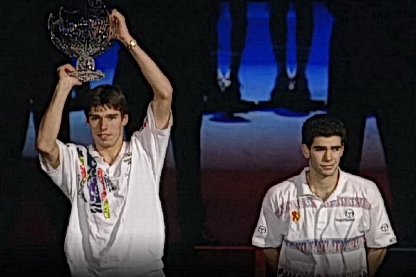 ATP Finals Flashback: Michael Stich beats Pete Sampras to keep the trophy at home