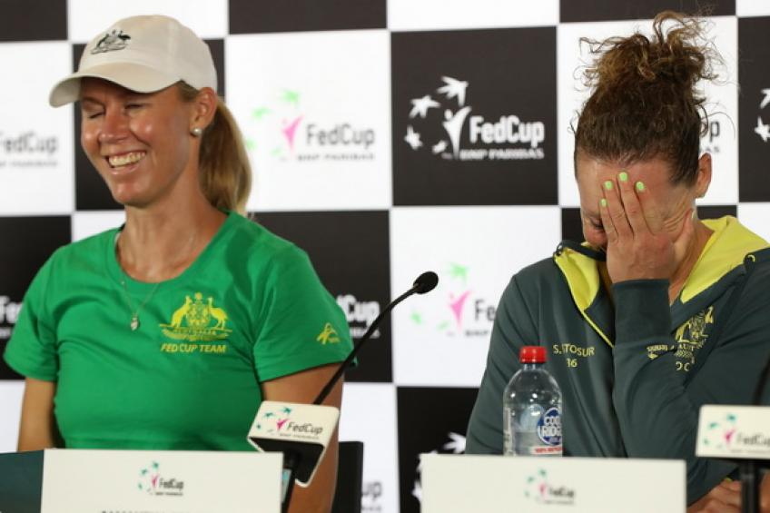 Alicia Molik: 'Stadium and weather work in our favor against French squad'
