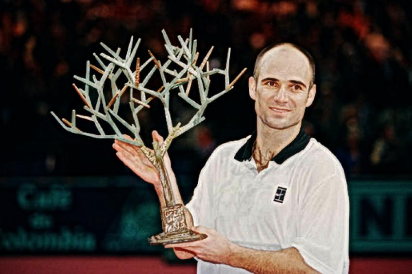 Paris Flashback: Andre Agassi tops Marat Safin to extend Parisian reign