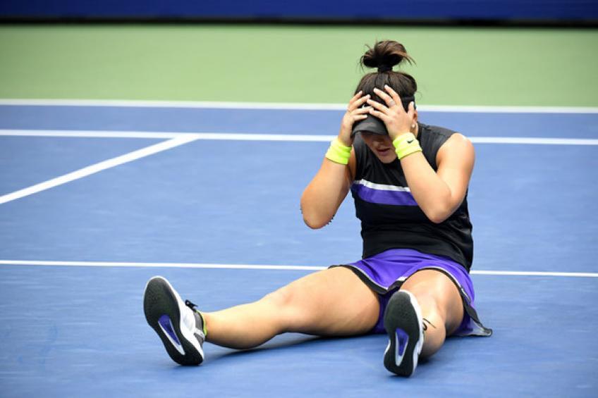Bianca Andreescu's coach gives update about her knee injury