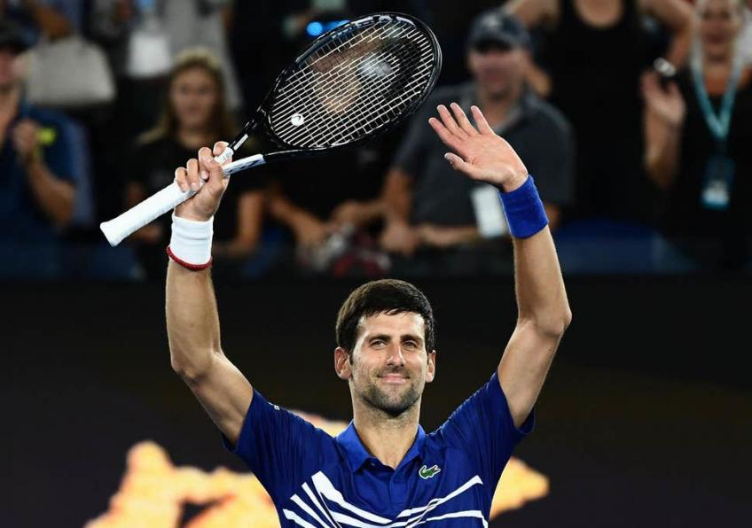 Novak Djokovic tops Matteo Berrettini in ATP Finals opener