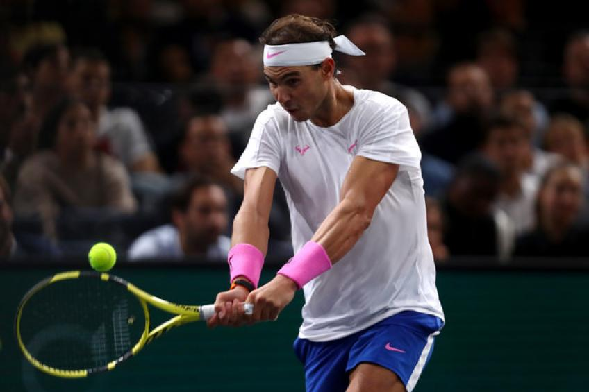 Rafael Nadal moves in front of Roger Federer on top-2 ranking list