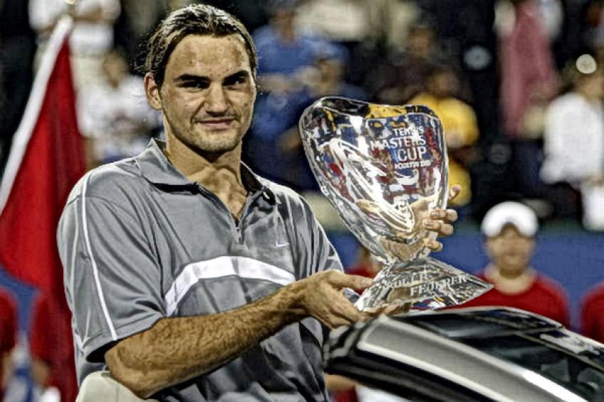ATP Finals Flashback: Roger Federer tops Andre Agassi to lift first title