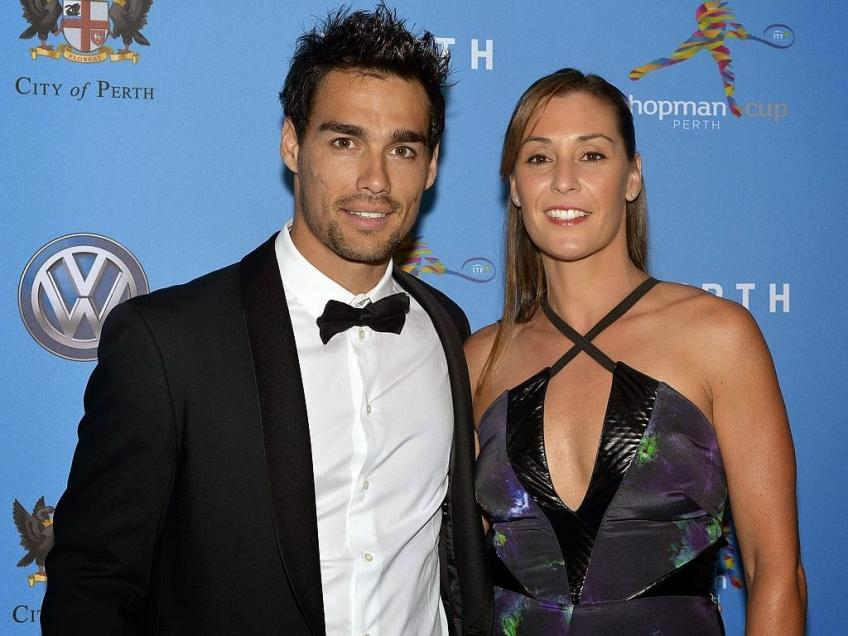 Fabio Fognini: 'Me and wife Flavia Pennetta will become parents again'