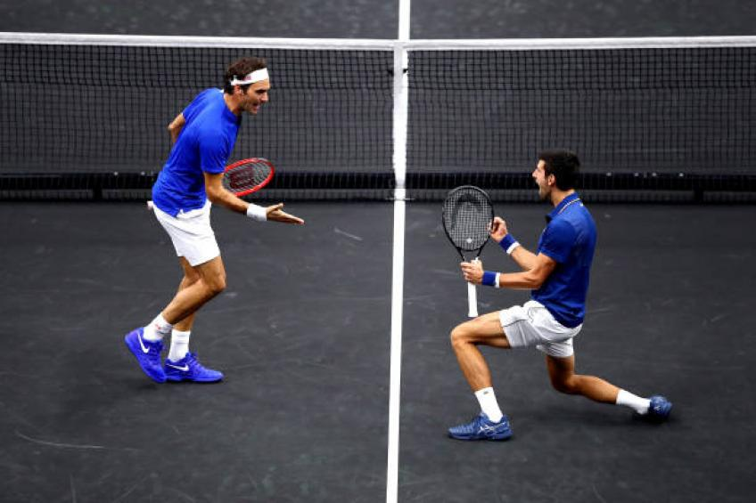 Novak Djokovic: 'Having Rafael Nadal and Roger Federer immensely helps'