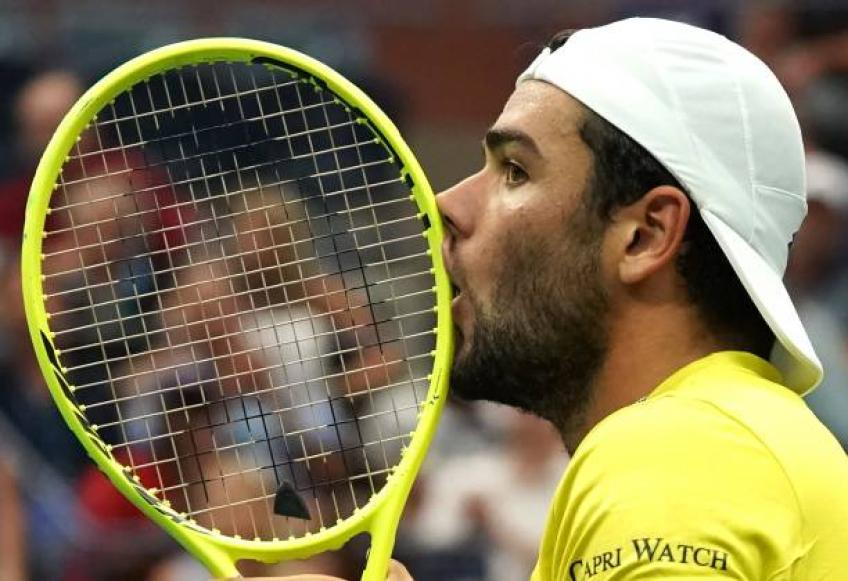 Matteo Berrettini: 'In Halle Roger Federer came to me and said...'