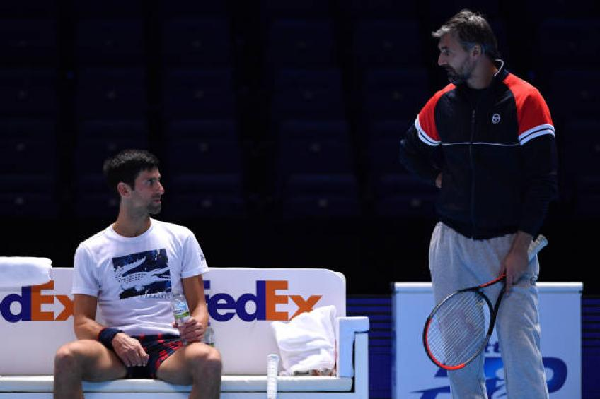 Novak Djokovic shares how coach Ivanisevic helps him to perform better