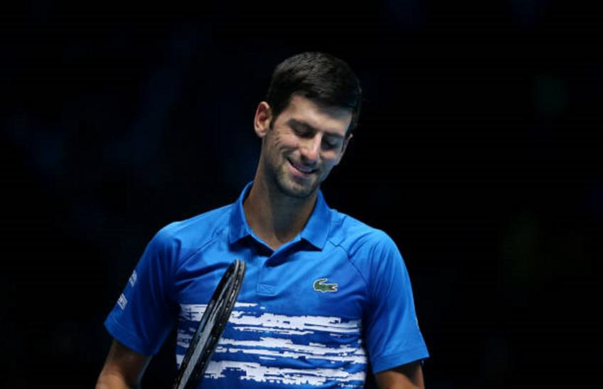 Novak Djokovic recalls nerves before first ATP Finals appearance in 2007