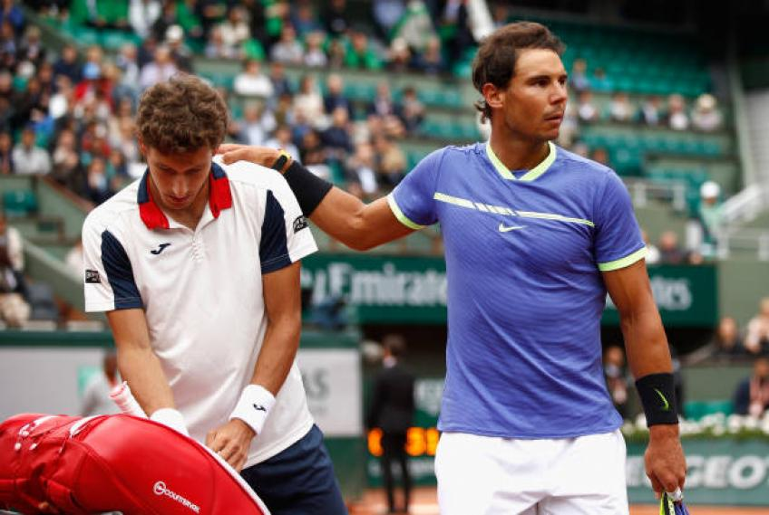 Pablo Carreno Busta: 'Rafael Nadal will be our Davis Cup team lader'