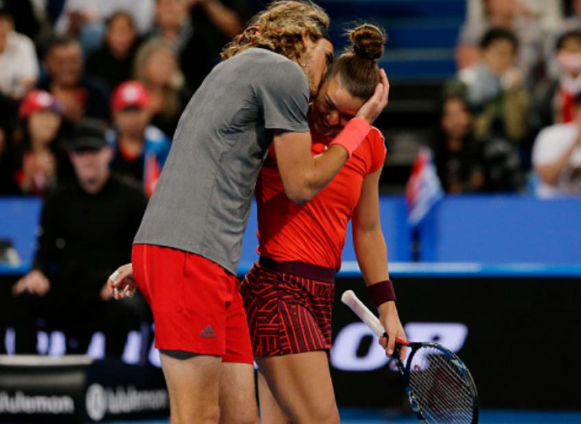 Maria Sakkari: Nothing is going on with me and Stefanos Tsitsipas