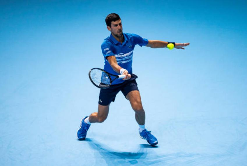 'Novak Djokovic goes through enormous pressure,everybody wants to beat him'