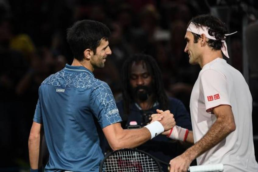Roger Federer outclasses Novak Djokovic to reach ATP semi-finals