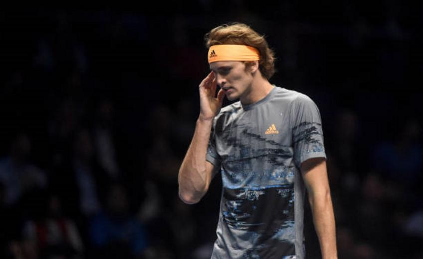 Alexander Zverev denies he checked mobile phone in mid-match