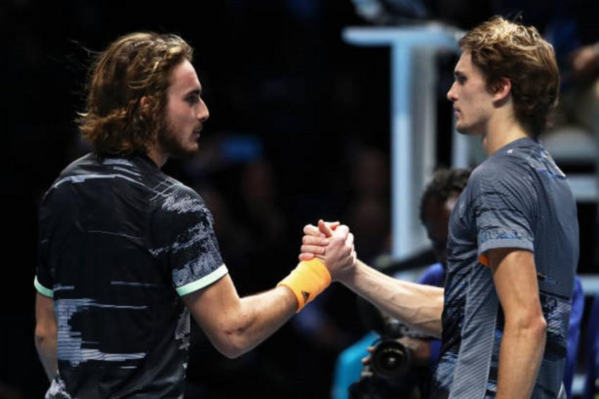 Rafael Nadal beats Stefanos Tsitsipas to keep his ATP Finals hopes alive