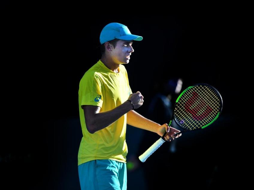 John Millman joins Australian team for ATP Cup