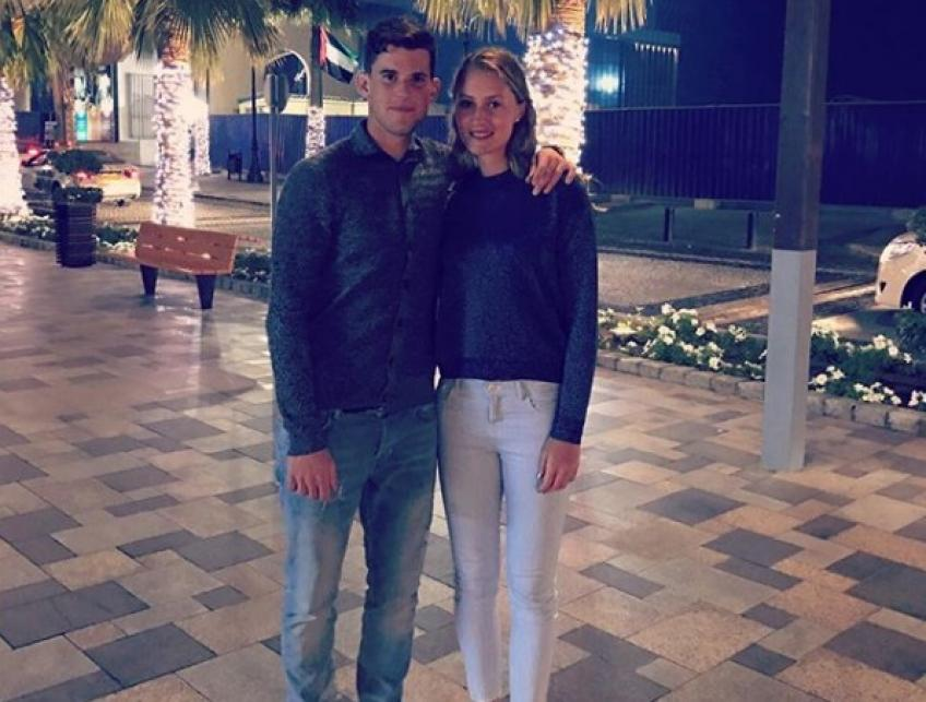 Dominic Thiem shares how it feels to have a tennis player as girlfriend