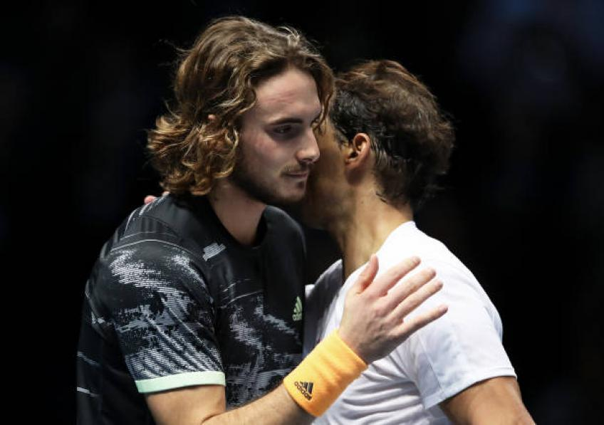 Stefanos Tsitsipas: 'Rafael Nadal did not destroy me in London'