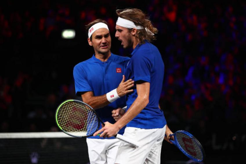 Stefanos Tsitsipas: 'Dominic Thiem and Roger Federer are very aggressive'