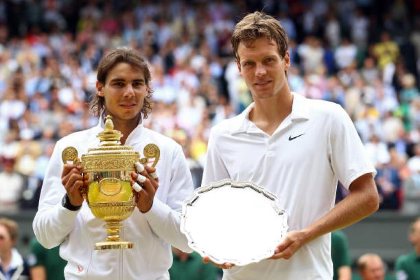 Berdych: '2010 Wimbledon was my best tournament even if I lost to Nadal'