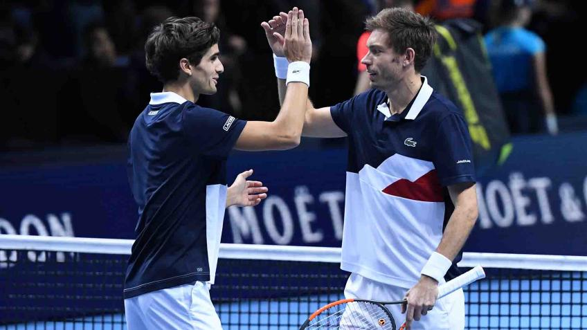 Pierre-Hugues Herbert & Nicolas Mahut on ATP Finals doubles final