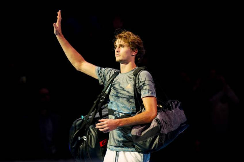 Alexander Zverev reveals struggles: 'I was not happy at all the whole year'